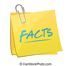 facts post memo illustration design
