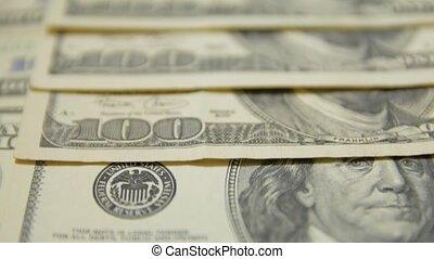 factures, 100, dollar