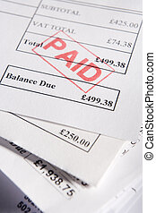 factures, payé
