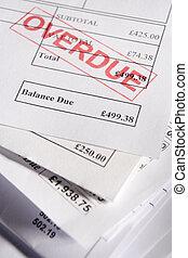 factures, retard