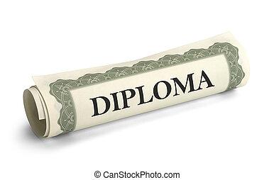 faculdade, diploma