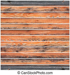 faded grungy wooden planks on white background ready for...