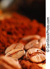 fagioli caffè, suolo