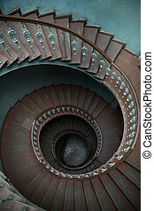 faház, bérlemény, lépcsősor