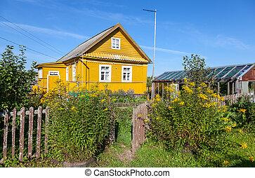 faház, színhely, sárga, vidéki, menstruáció