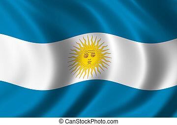 fahne, argentinien