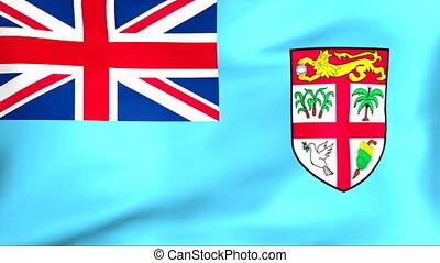 fahne, fidschi