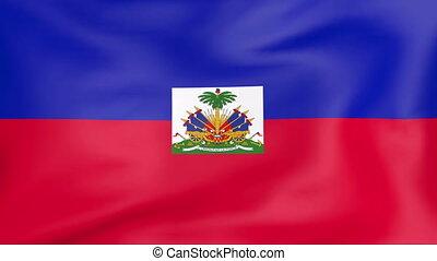 fahne, haiti