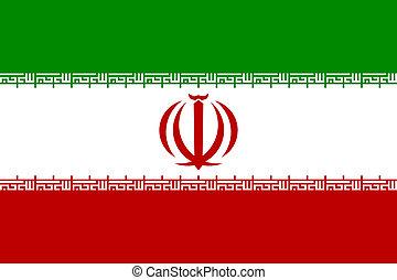 fahne, iran