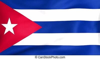 fahne, kuba