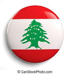 fahne, libanon