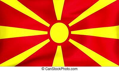 fahne, macedonia