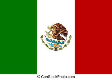 fahne, mexiko