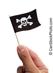 fahne, pirat