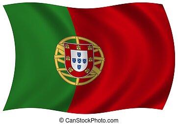 fahne, portugal