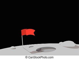 fahne, rotes
