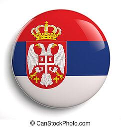 fahne, serbien