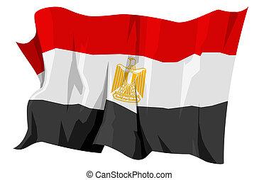 fahne, series:, ägypten