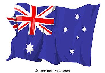 fahne, series:, australia