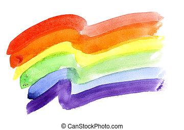fahne, stolz, gay