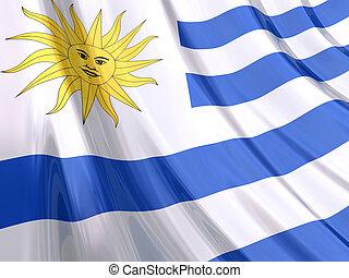 fahne, uruguay