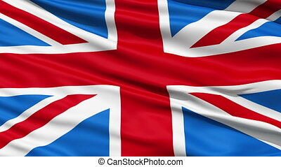 fahne, vereinigtes königreich, von, groß, britai