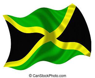 fahne, von, jamaika