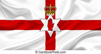 fahne, von, nordirland