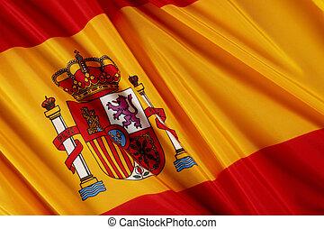 fahne, von, spanien