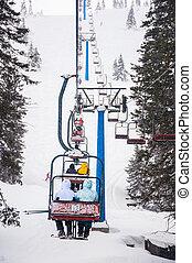 fahren ski zuflucht