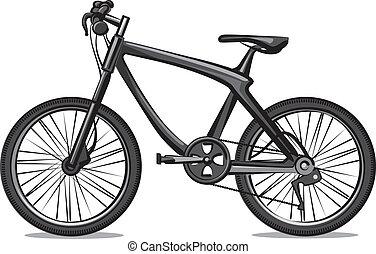 blaues wohnung stil freigestellt fahrrad sitz hintergrund schwarz wei es stra e. Black Bedroom Furniture Sets. Home Design Ideas