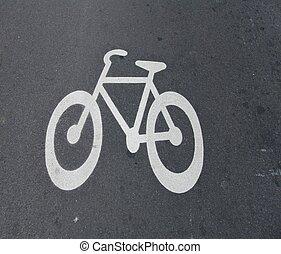 fahrrad, hier