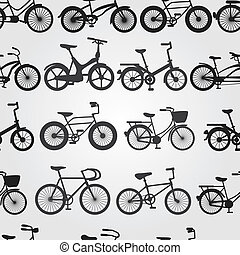 fahrrad, hintergrund, retro