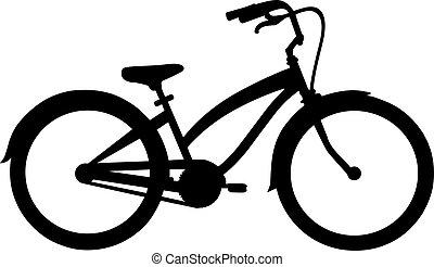fahrrad, kreuzer
