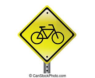 fahrrad, zeichen