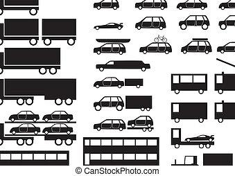 Fahrzeuge - verschiedene Fahrzeuge