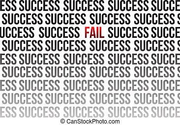 fail around success illustration