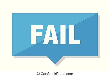 fail price tag - fail blue square price tag