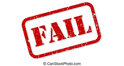 Fail Rubber Stamp Vector