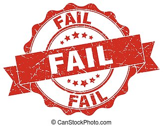 fail stamp. sign. seal