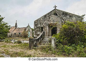 Failed Church - abandoned Catholic church building on Cat ...
