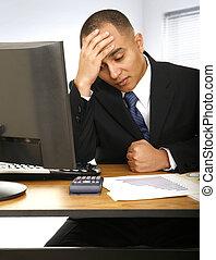 Failed Financial Advisor - a financial advisor hit table...