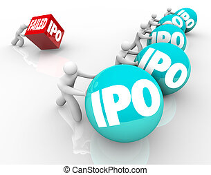 Failed IPO Bad Initial Public Offering Race Competition New...