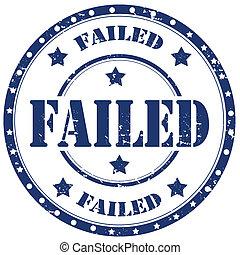 Failed-stamp