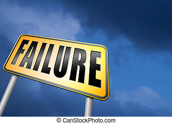 failure and mistake