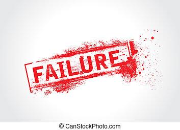 Failure Grunge Text