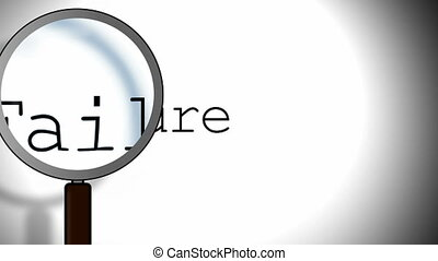 Failure Magnifying Glass