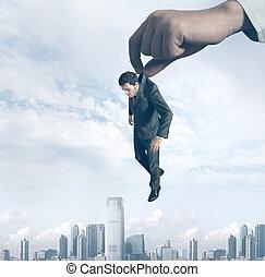 Failure of a businessman