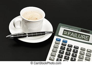 Failure on calculator