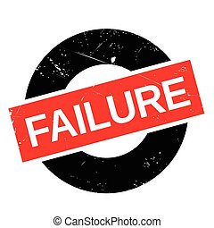 Failure stamp - Failure rubber stamp. Grunge design with...